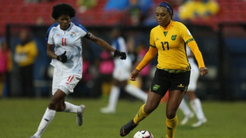 Reggae Girlz lead charge for female specific gear