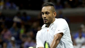 Shoulder woe could end Kyrgios' season after Zhuhai Open exit