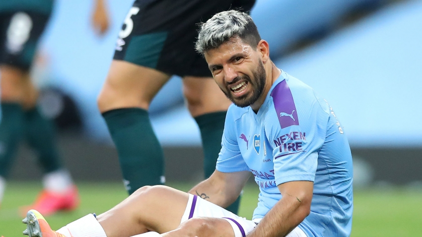 Aguero out of Manchester City clash with Real Madrid