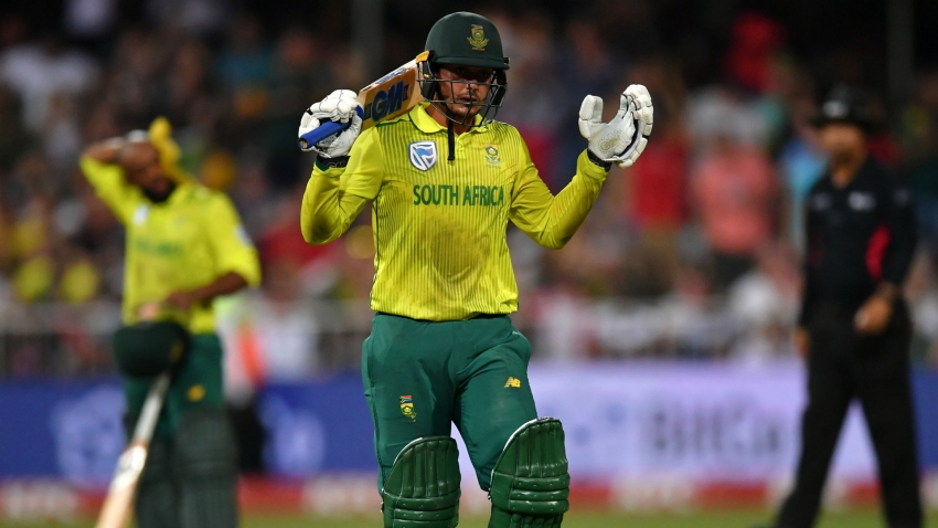 England survive De Kock onslaught as South Africa come up just short