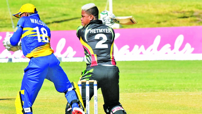 Hetmyer fails Windies fitness test for second time in one year