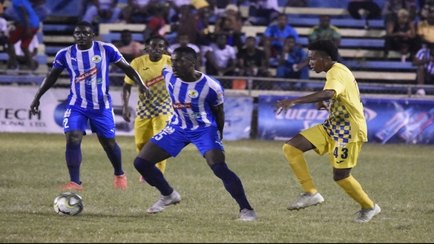 Leaders Portmore FC held by Mount Pleasant at Drax Hall