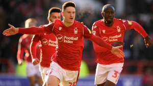 Nottingham Forest 3-1 Luton Town: Lolley pops up to send Lamouchi's men fifth