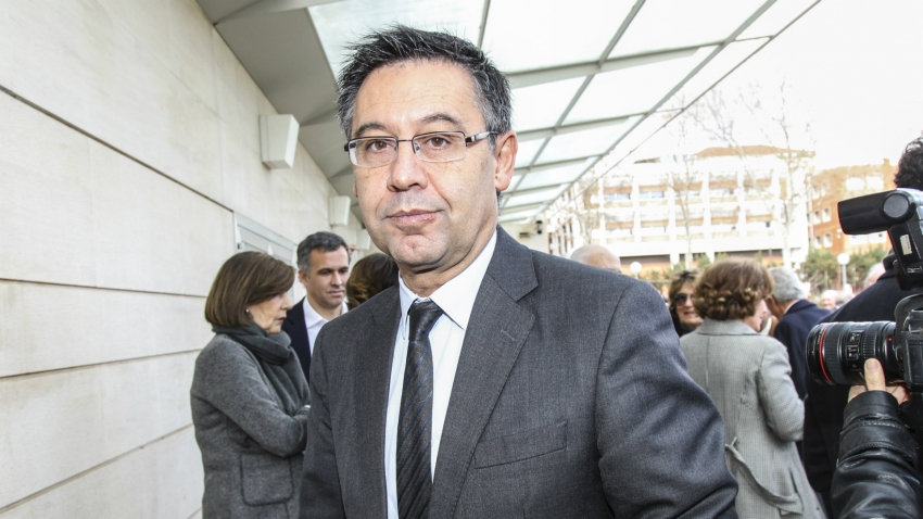 Bartomeu 'provisionally released' after Barcelona office raids