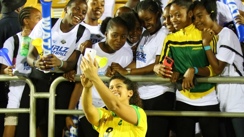 Schoolgirl football players get tickets to see Reggae Girlz against Panama