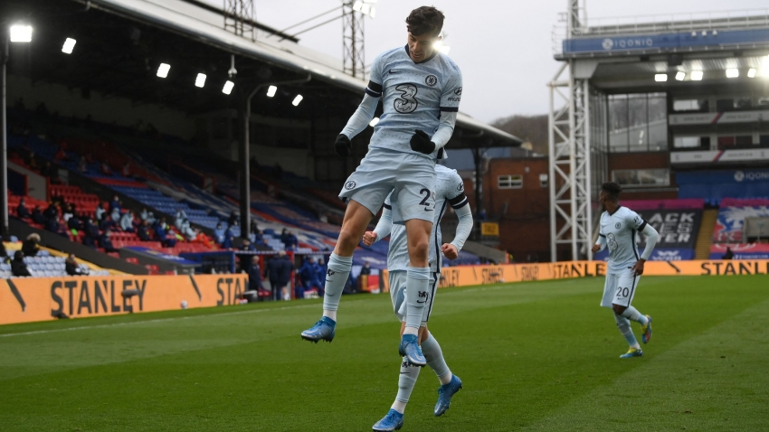 Crystal Palace 1-4 Chelsea: Havertz hits target as Blues resume normal service