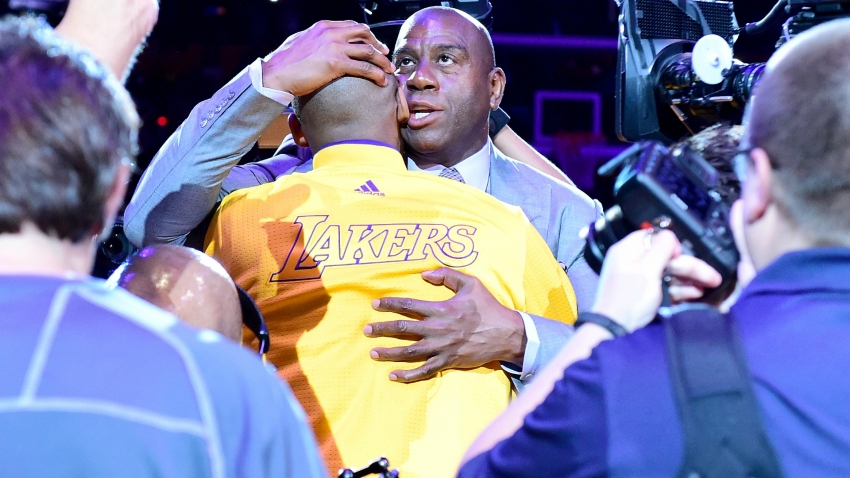 Kobe Bryant dead: Greatest Laker of all-time is gone - Magic Johnson mourns tragedy