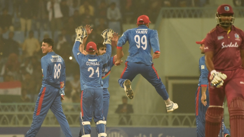 Janat takes five as Afghanistan level series