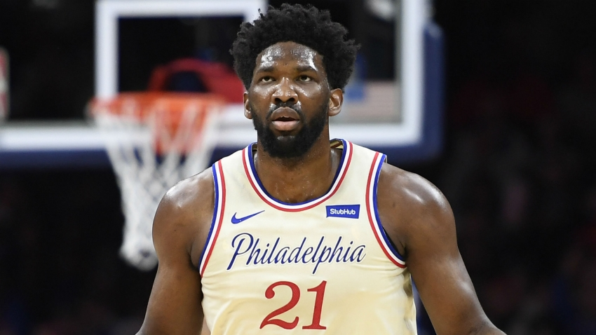 76ers center Joel Embiid fined by NBA