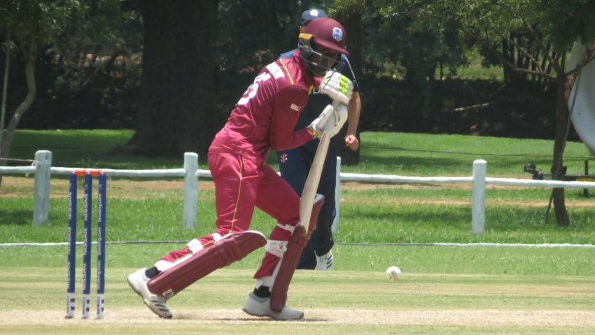 Graeme West backs Windies U19s to show their quality