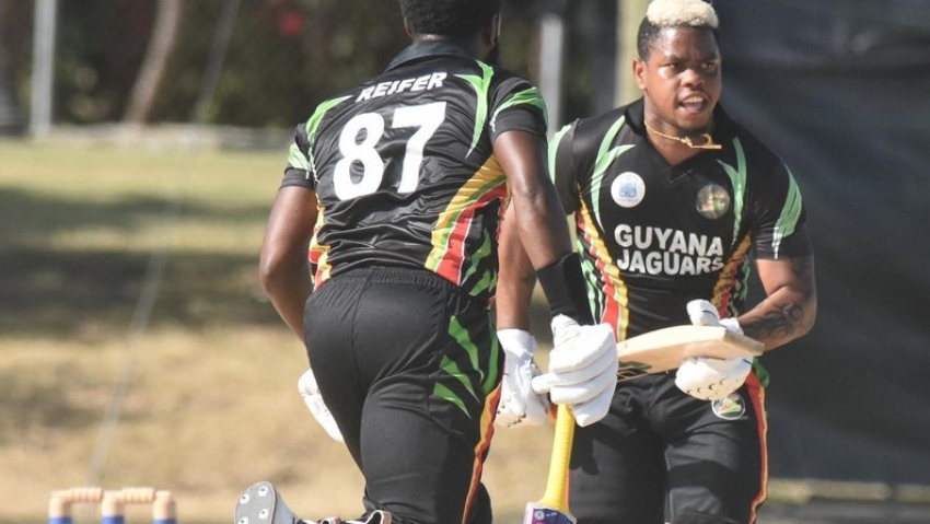 Classy Hetmyer ton eases Guyana Jaguars past Windward Volcanoes - sets up Super50 final clash with T&T Red Force