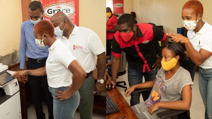 Shelly-Ann Fraser-Pryce donates 50 tablets, printer to national online education initiative