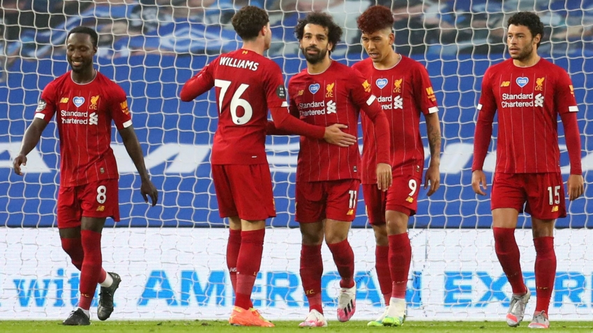 Brighton and Hove Albion 1-3 Liverpool: Salah double helps champions end away drought