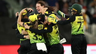 Australia thrash India to win Women's T20 World Cup in front of record crowd