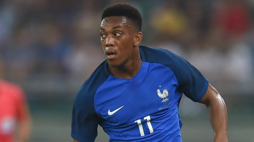 Martial still part of Deschamps' France thinking