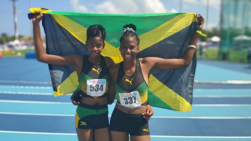 Jamaica dominates in the field at CARIFTA
