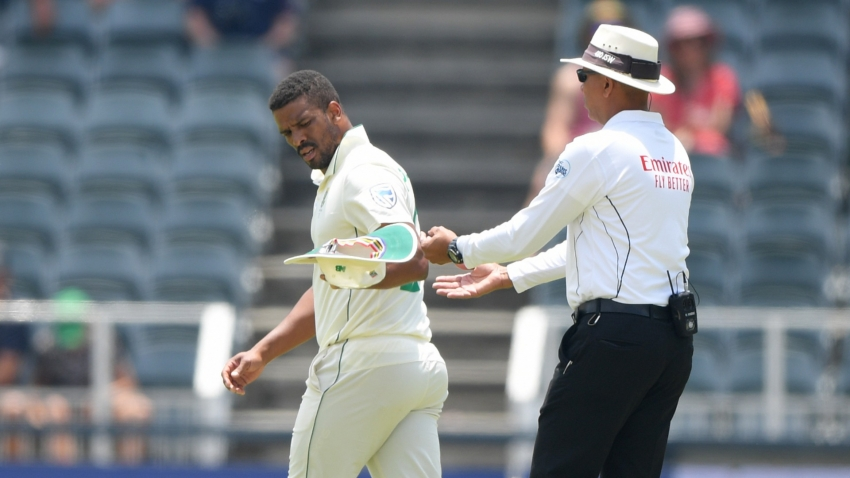 Injured Philander fined in final Test following Buttler send-off
