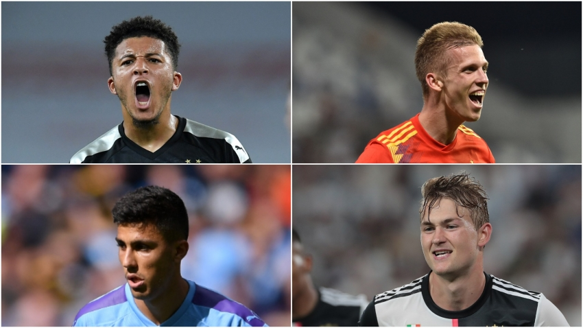 Sancho, Olmo, Rodri and De Ligt - 10 players to watch in the 2019-20 Champions League