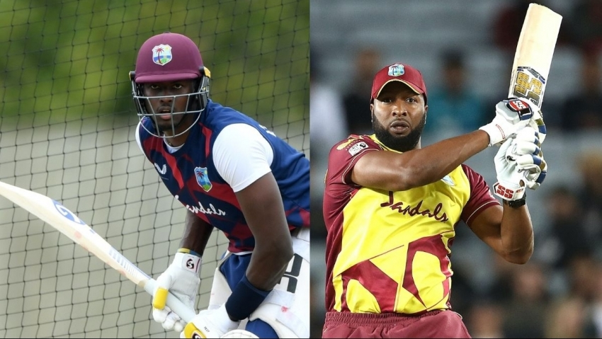 Holder, Pollard, express confidence in respective Super50 squads ahead of 2021 tourney