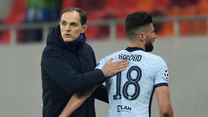 Five-a-side, fashion stakes - Giroud a winner in all areas for Chelsea boss Tuchel ahead of Man United clash