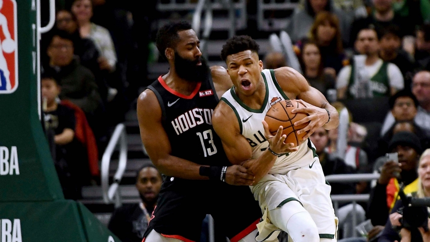 Harden blames 'media narrative' for Giannis winning MVP race