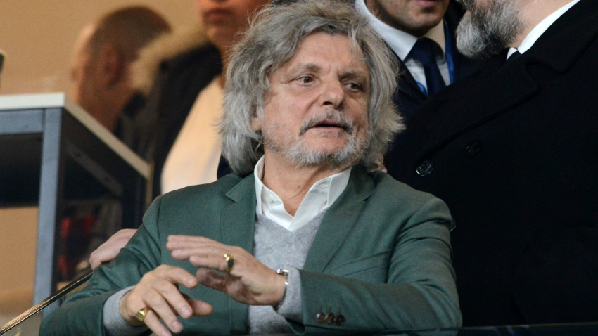 Coronavirus: Sampdoria president says Serie A season 'must end here'