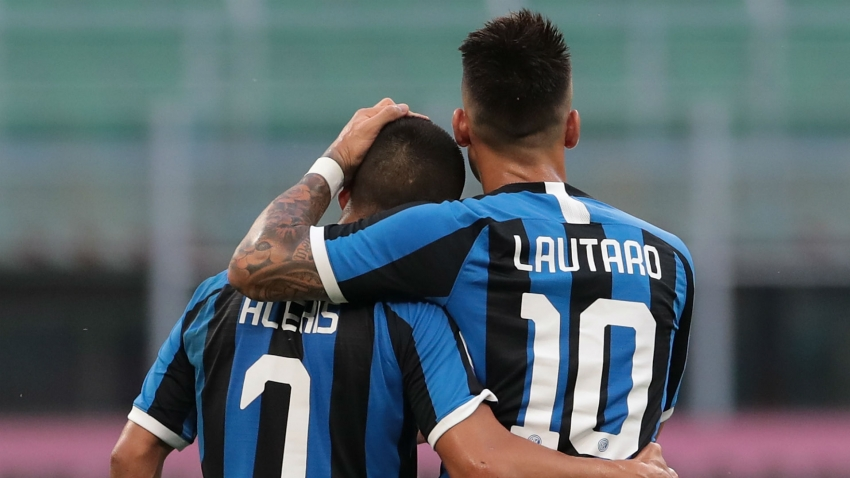 Lautaro Martinez's lack of goals not concerning Antonio Conte