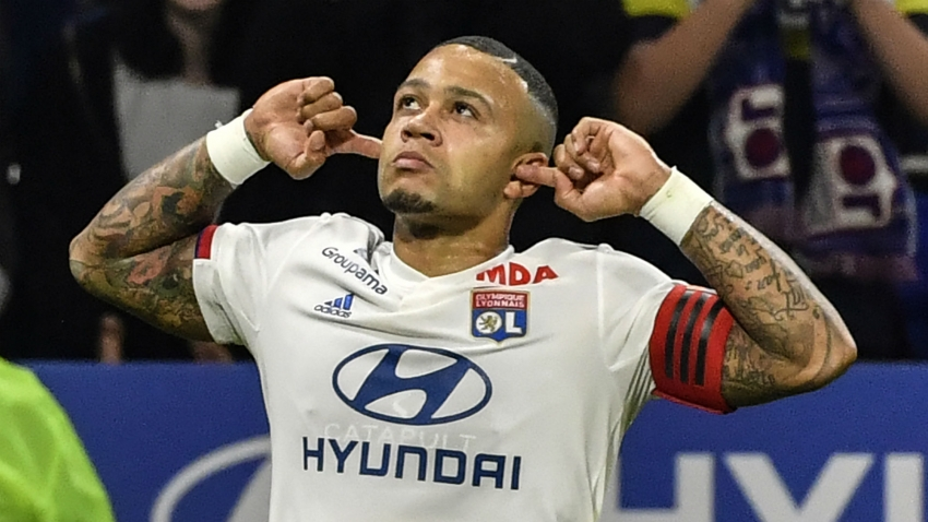 Depay's return would give Lyon advantage against Juventus – Sylvinho