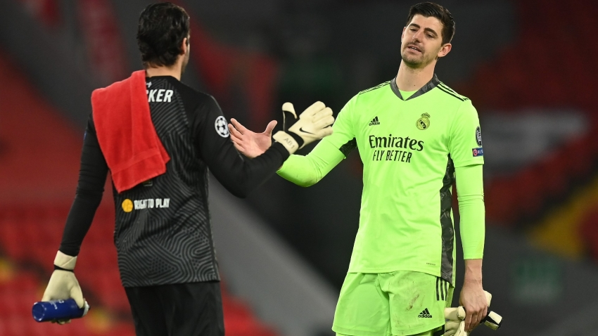 Courtois anticipates 'special' Chelsea reunion in Champions League semis