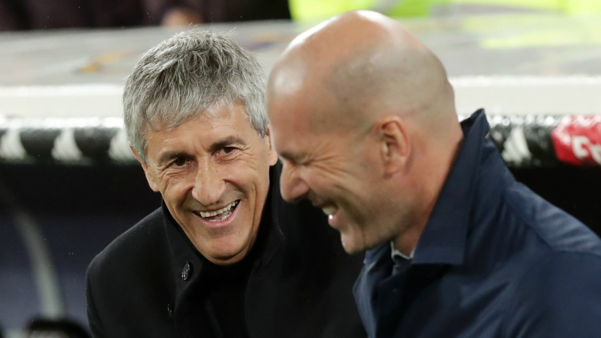 Barca boss Setien sniffs title chance despite Real Madrid's seven-win streak