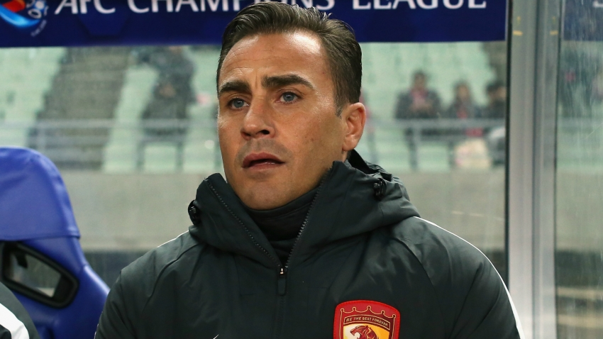 Coronavirus: Cannavaro doubts European football will resume before season's end