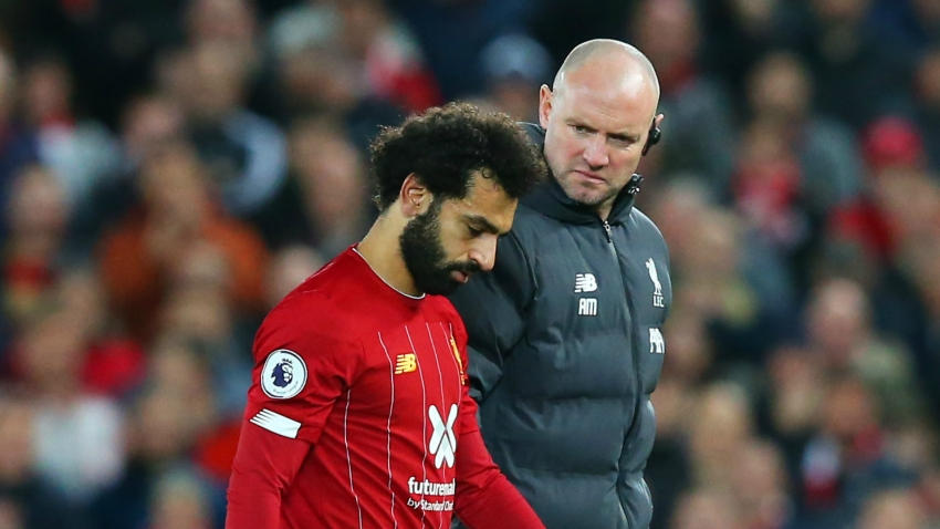Liverpool forward Salah out of Egypt action with persistent ankle injury