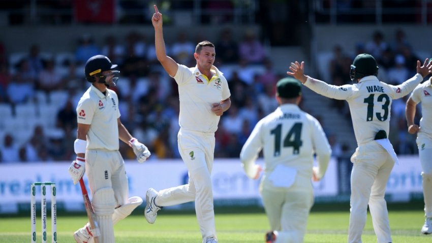 Ashes 2019: Australia eight wickets from retaining the urn as Root and Denly dig in