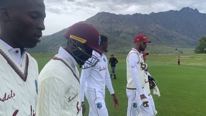 Windies bowlers lacking a cutting edge as warm-up match ends in a draw