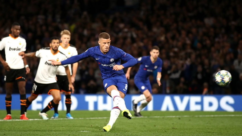 Chelsea 0-1 Valencia: Barkley fluffs his lines from the spot as Rodrigo condemns Lampard to defeat