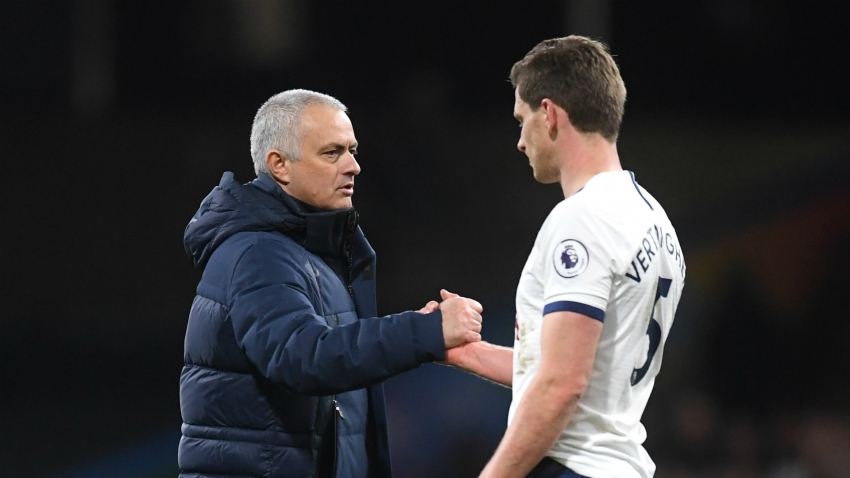 Mourinho: Benfica-bound Vertonghen 'certainly among the best'