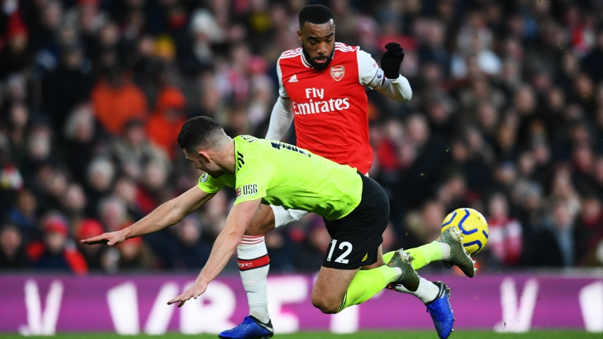 Lacazette right to say Arsenal should be nastier, says Arteta
