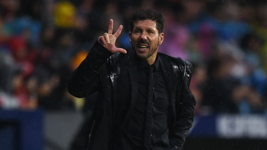 Simeone dismisses suggestion he has lost Atletico Madrid dressing room