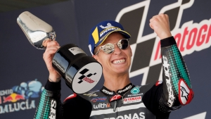 Quartararo not thinking of championship glory despite 'privileged place' in MotoGP standings