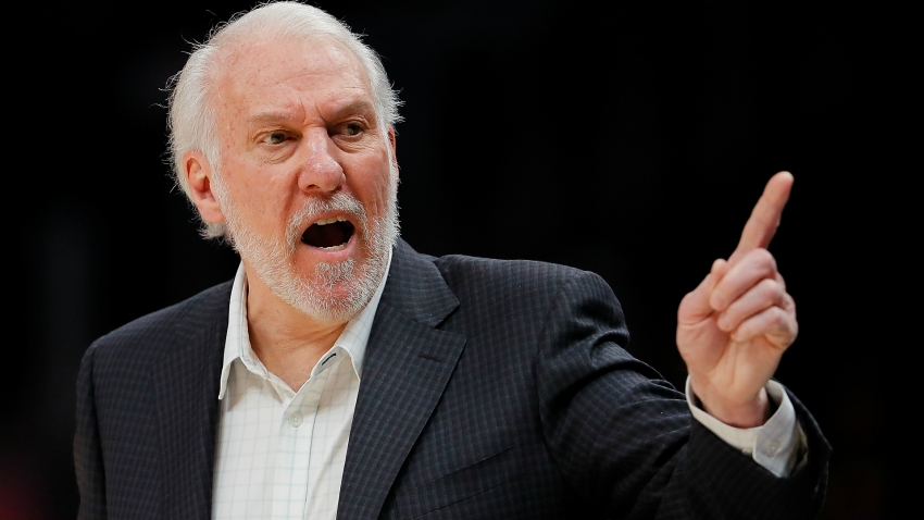 Silver over 'cowardly' Trump for Spurs coach Popovich
