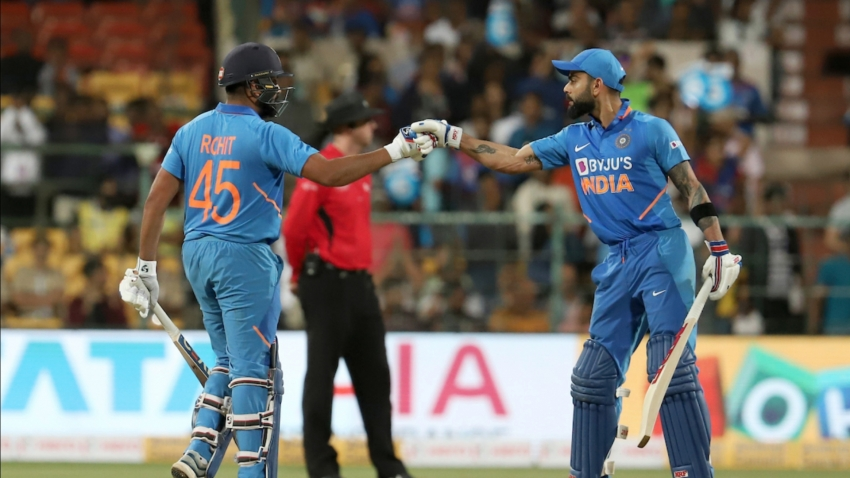 Rohit and Kohli lead the way as India clinch victory over Australia in series decider