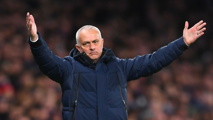 Tottenham's upturn not about me, claims Mourinho