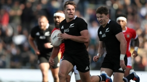 New Zealand 92-7 Tonga: All Blacks fall short of century in pre-World Cup annihilation