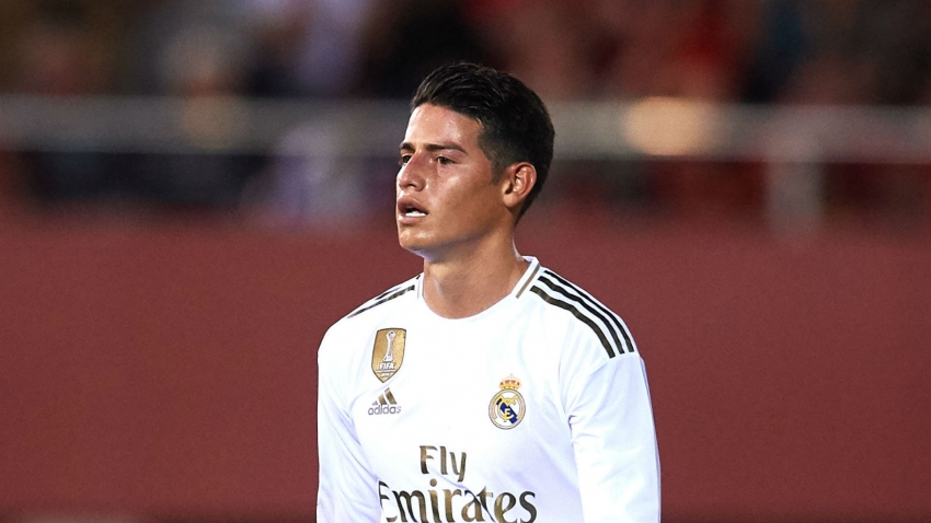 James' Clasico participation in doubt as Real Madrid confirm knee injury
