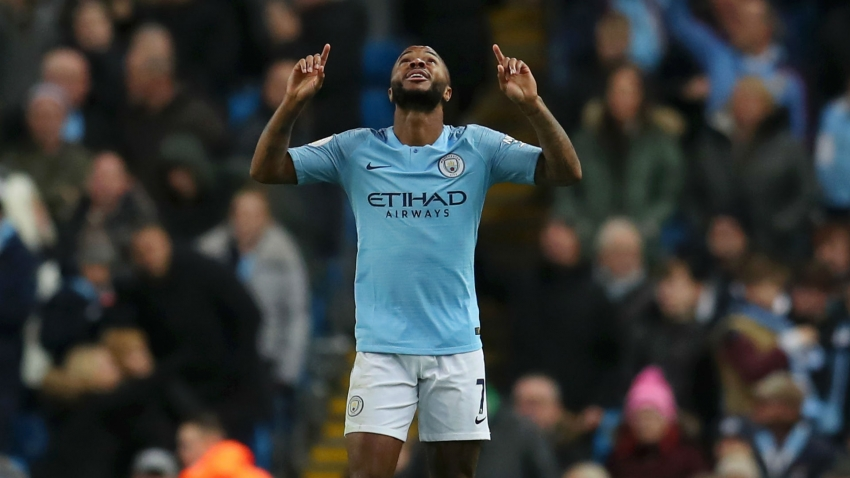 Raheem Sterling named Premier League Player of the Month