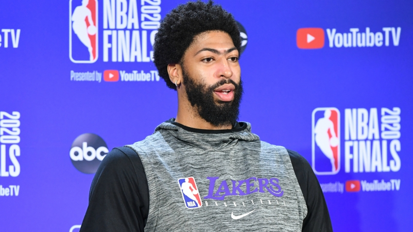 Lakers' Davis ready to cap 'crazy year' with NBA championship