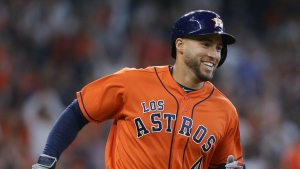 Astros clinch third successive American League West title