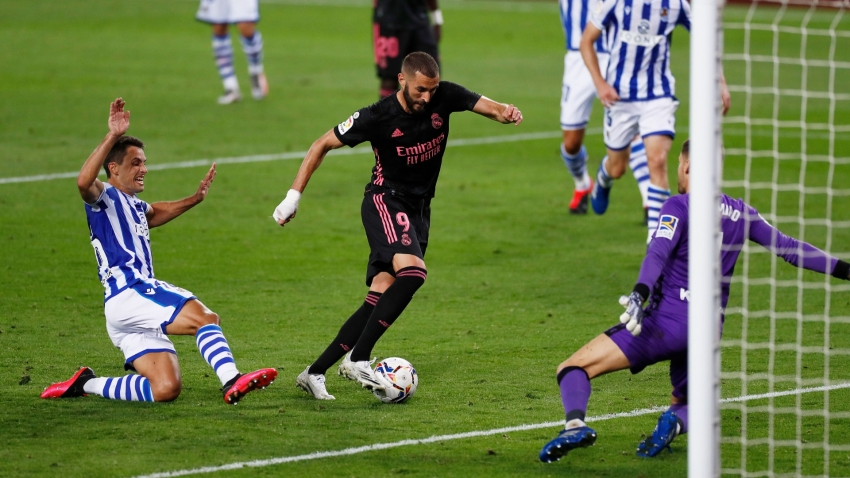 Real Sociedad 0-0 Real Madrid: Stuttering start for LaLiga champions