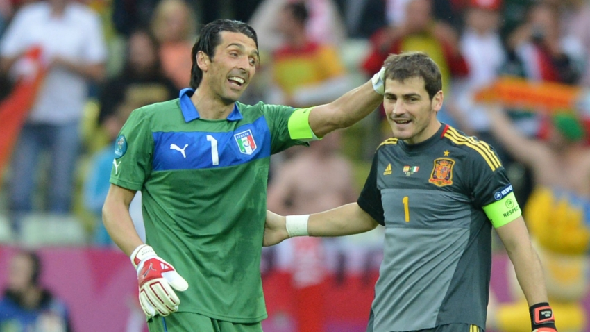 Buffon hails rival and friend Casillas - without you everything would have been less meaningful