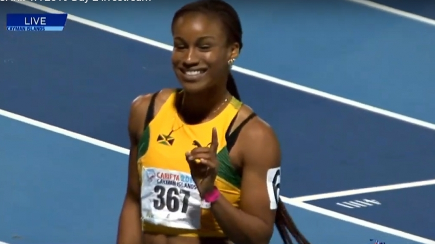 Williams completes Carifta sprint double